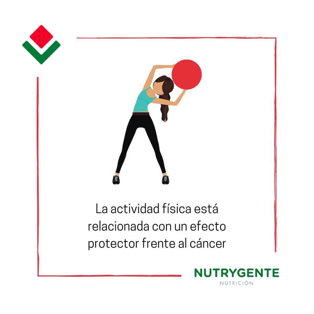 Ejercicio físico y su relación con el cancer de mama