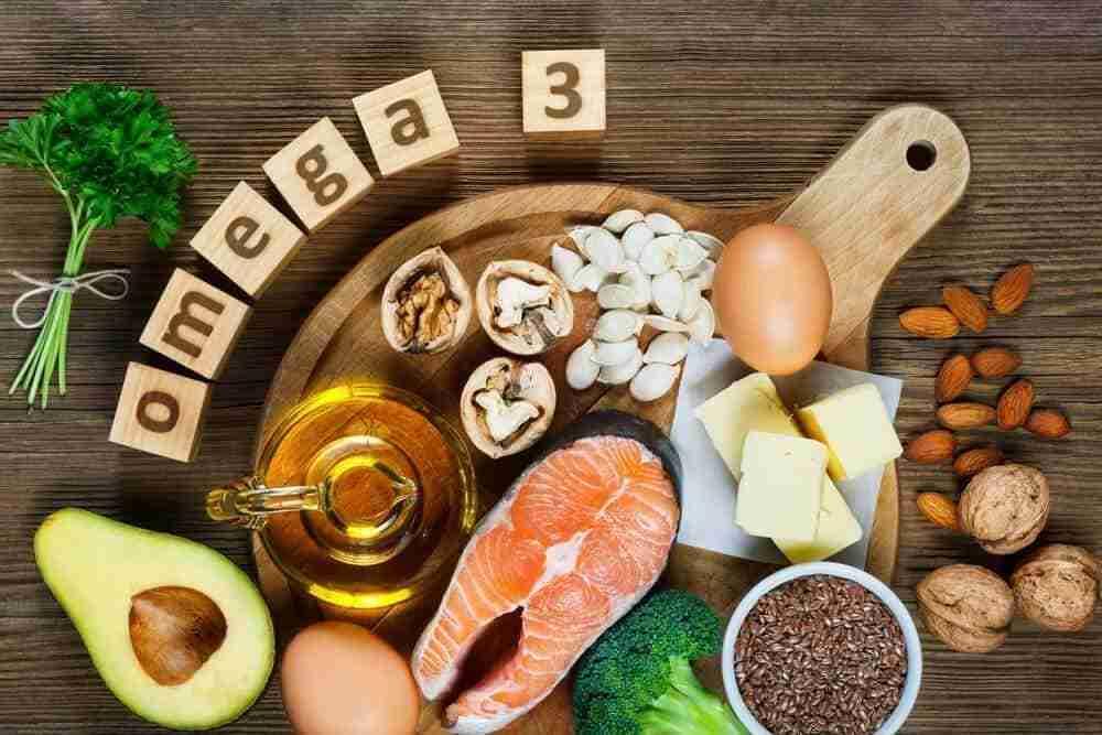 Fuente de omega 3 en la dieta o alimentación