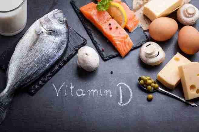Imagen representativa de los alimentos ricos en vitamina D